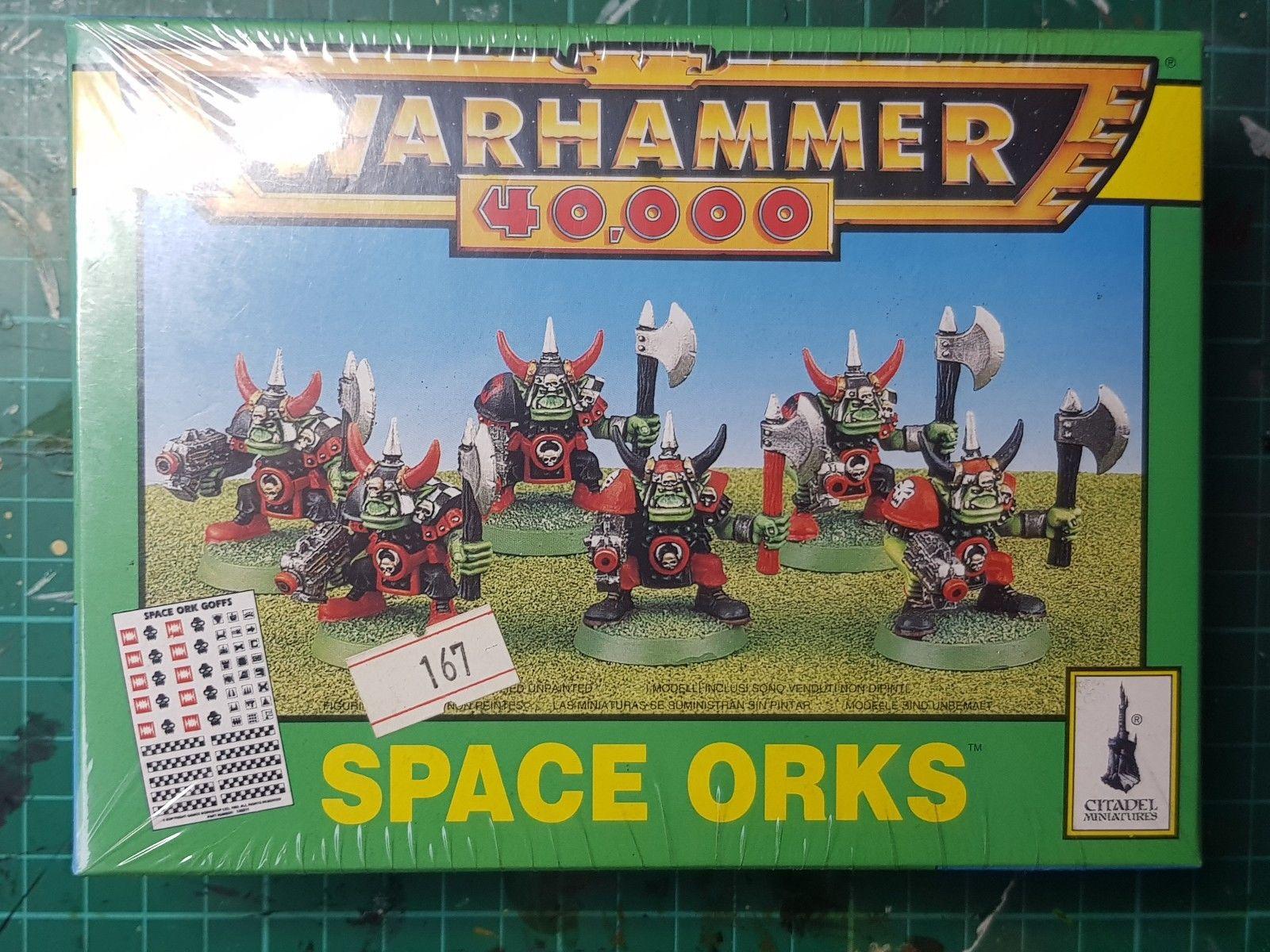 2nd Ed – Space Orks Plastic Squad – New BNIB Sealed OOP
