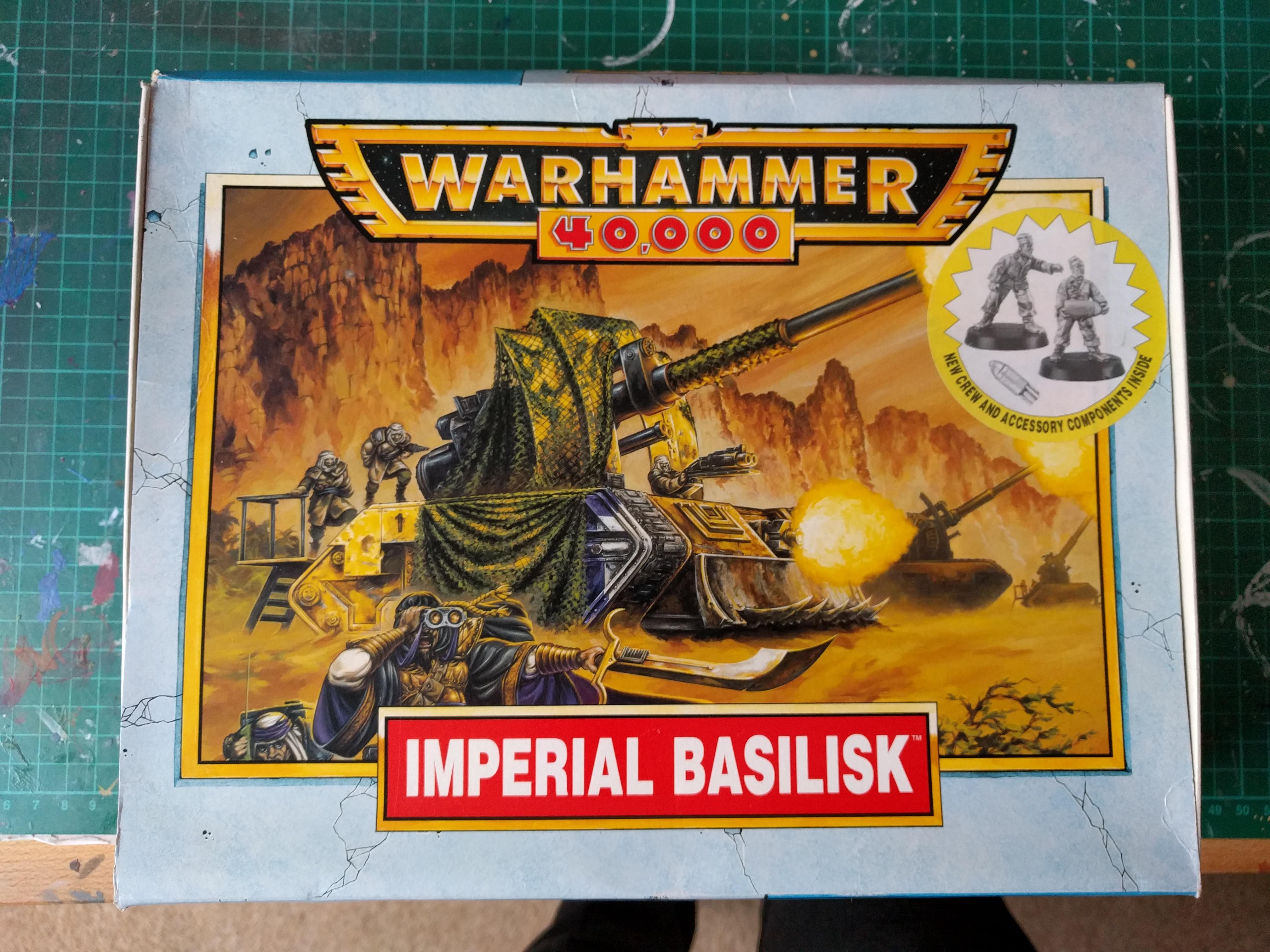 Imperial Guard – Imperial Basilisk