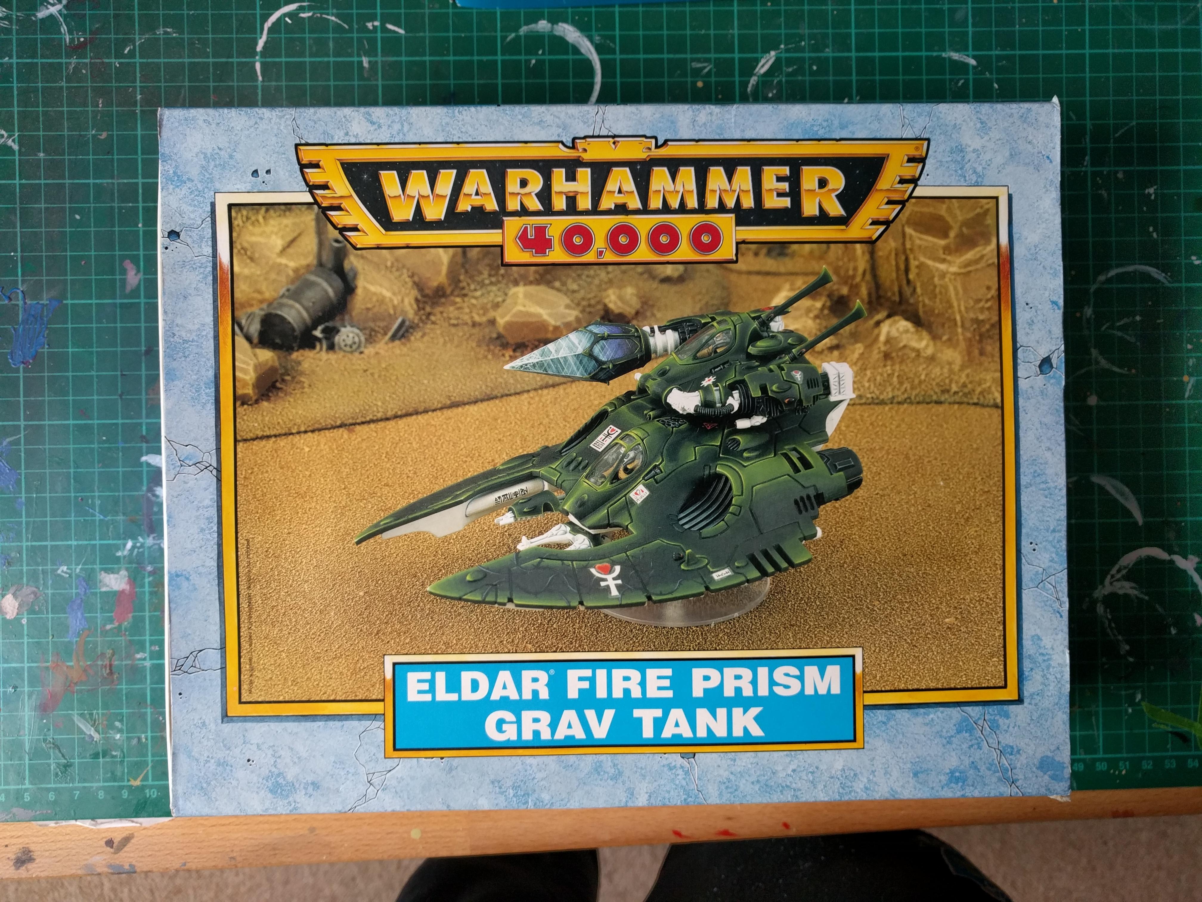 Eldar – Fire Prism Grav Tank – 1999