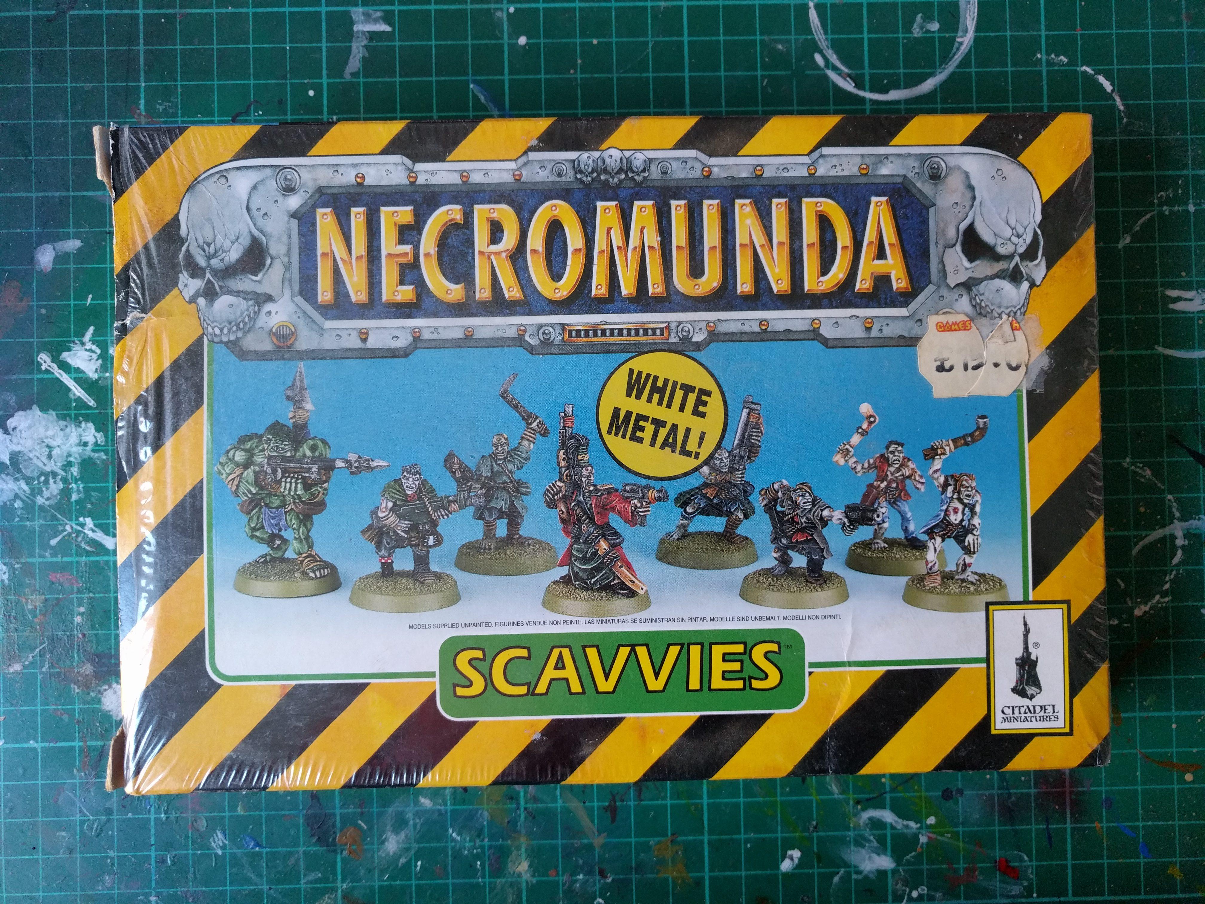 Necromunda Scavvies
