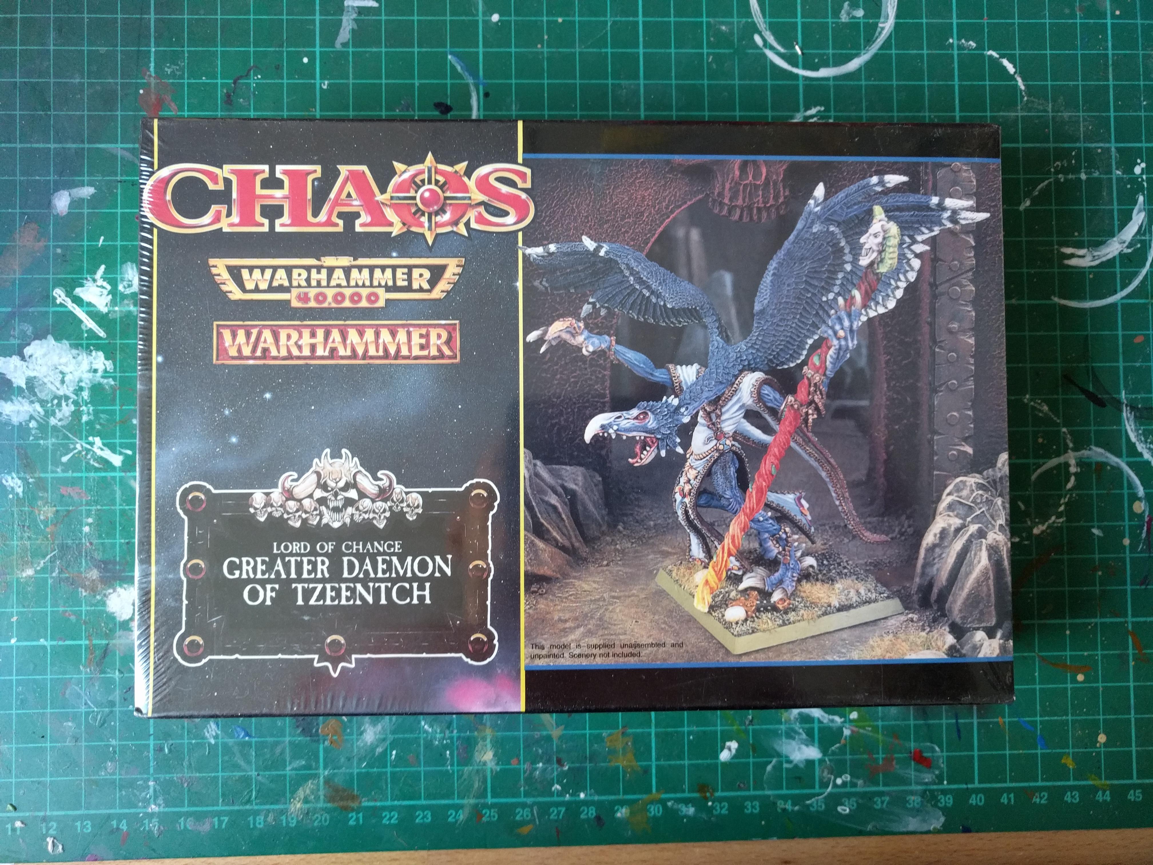 Chaos Lord of Change Great Daemon of Tzeentch