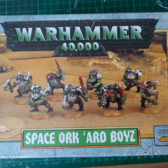 Space Ork 'Ard Boyz