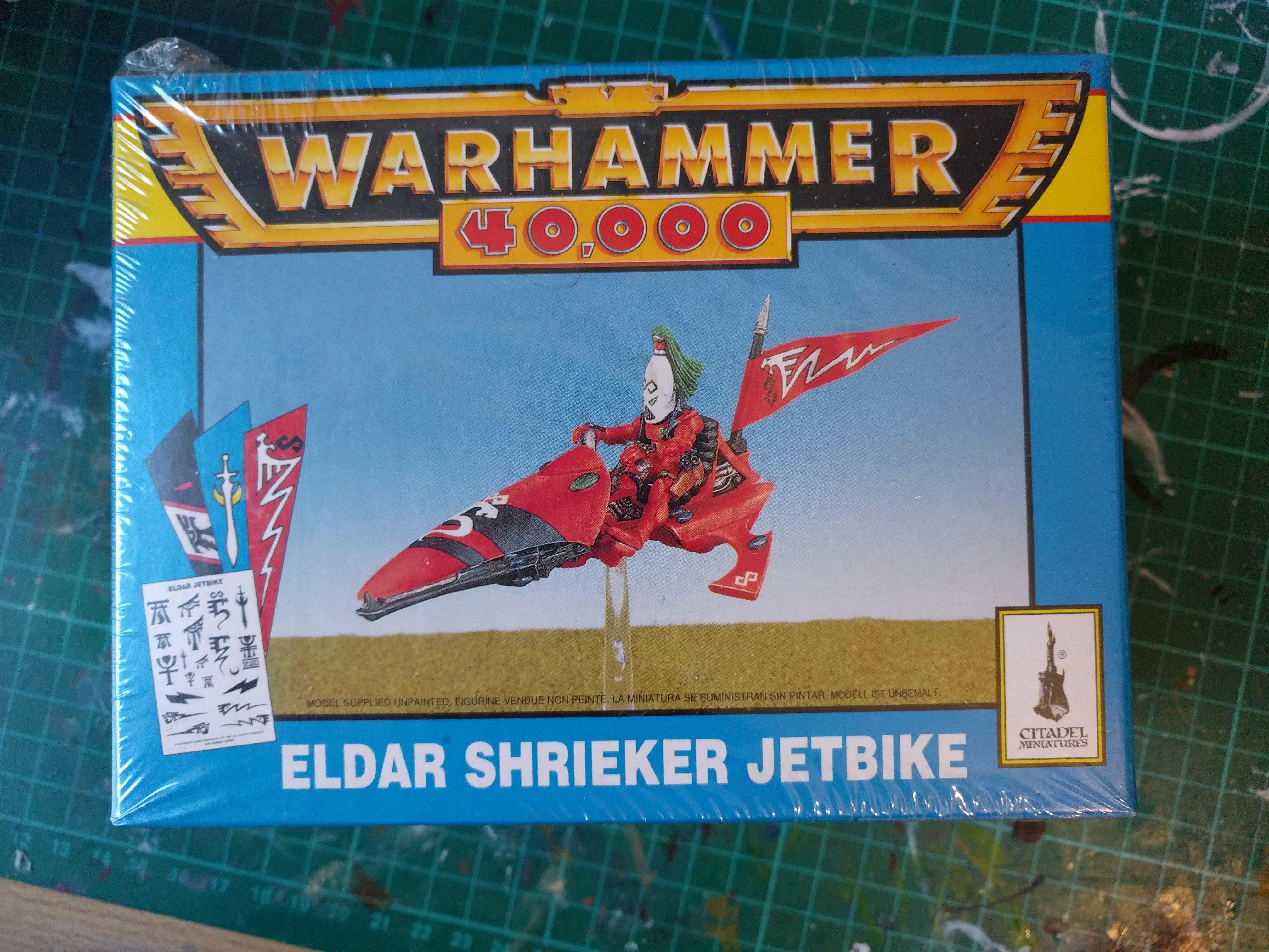 Eldar Shrieker Jetbike