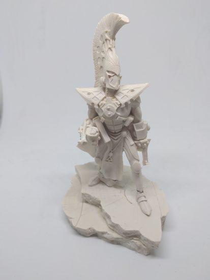 Warhammer Forgeworld - Asurman Eldar - Bust Statue - Unpainted OOP