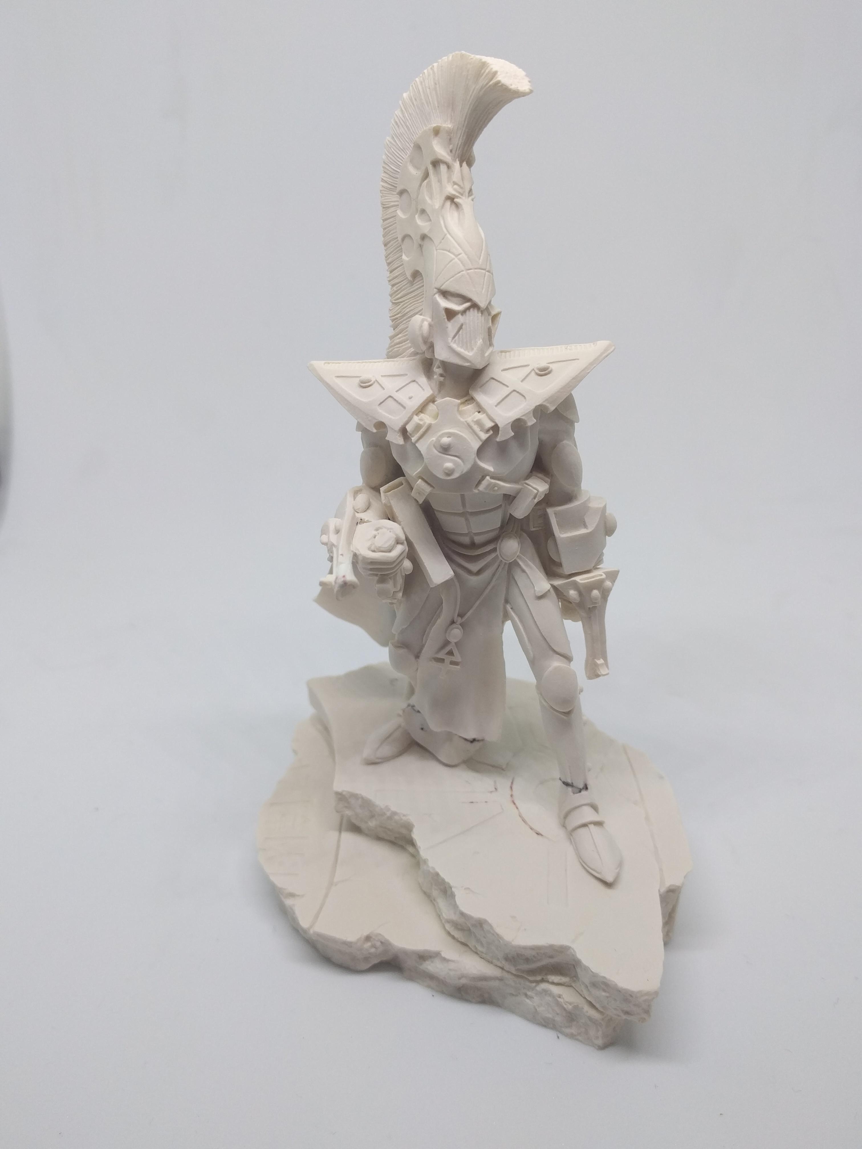 Asurmen Eldar Bust Statue Warhammer Forgeworld