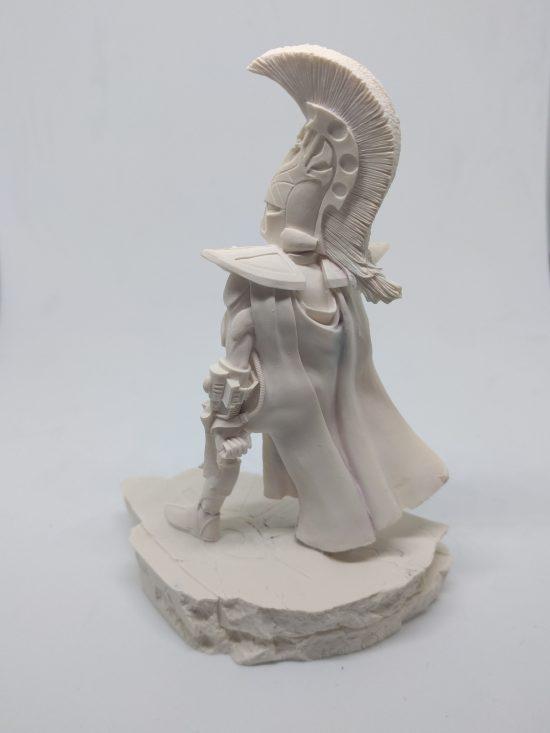 Warhammer Forgeworld - Asurman Eldar - Bust Statue - Unpainted OOP - Back