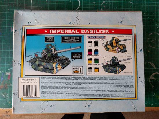 Imperial Guard - Imperial Basilisk