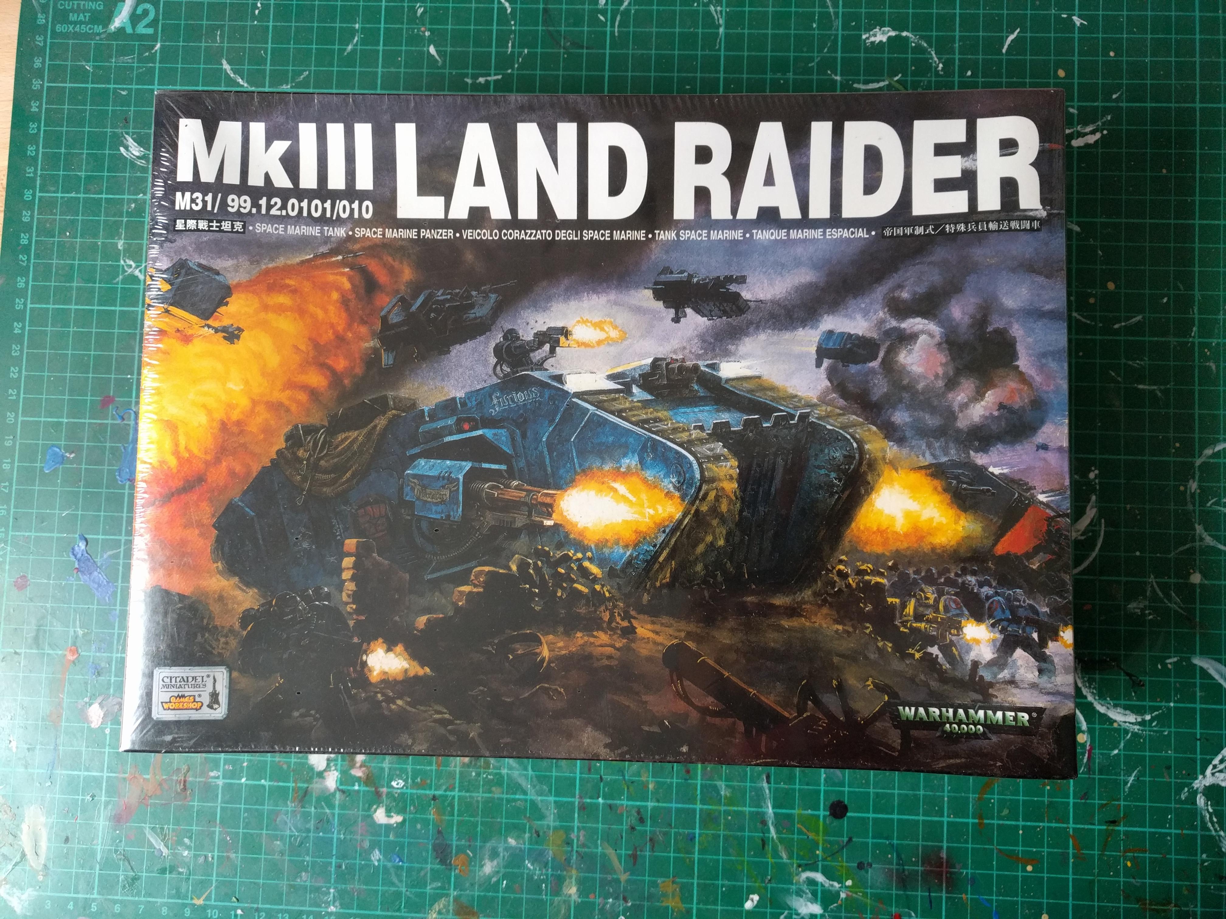 Space Marine – Land Raider – 1999