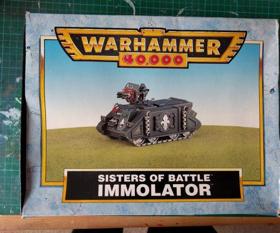 Sisters of Battle Immolator