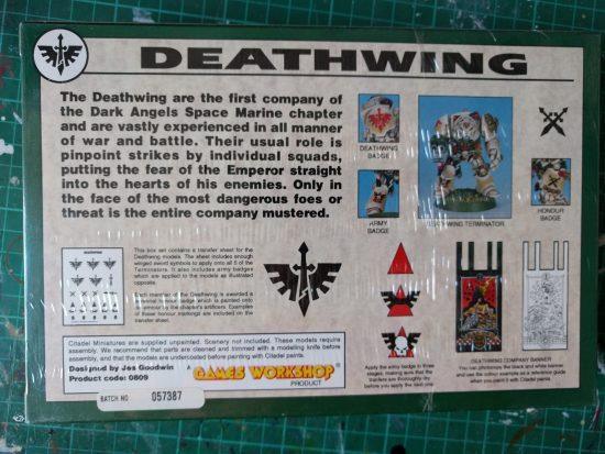 Space Marine Terminators Deathwing