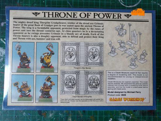 Dwarf King's Throne of Power