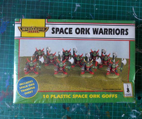 Space Ork Warriors 10 Plastic Space Ork Goffs