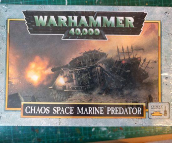Chaos Space Marine Predator