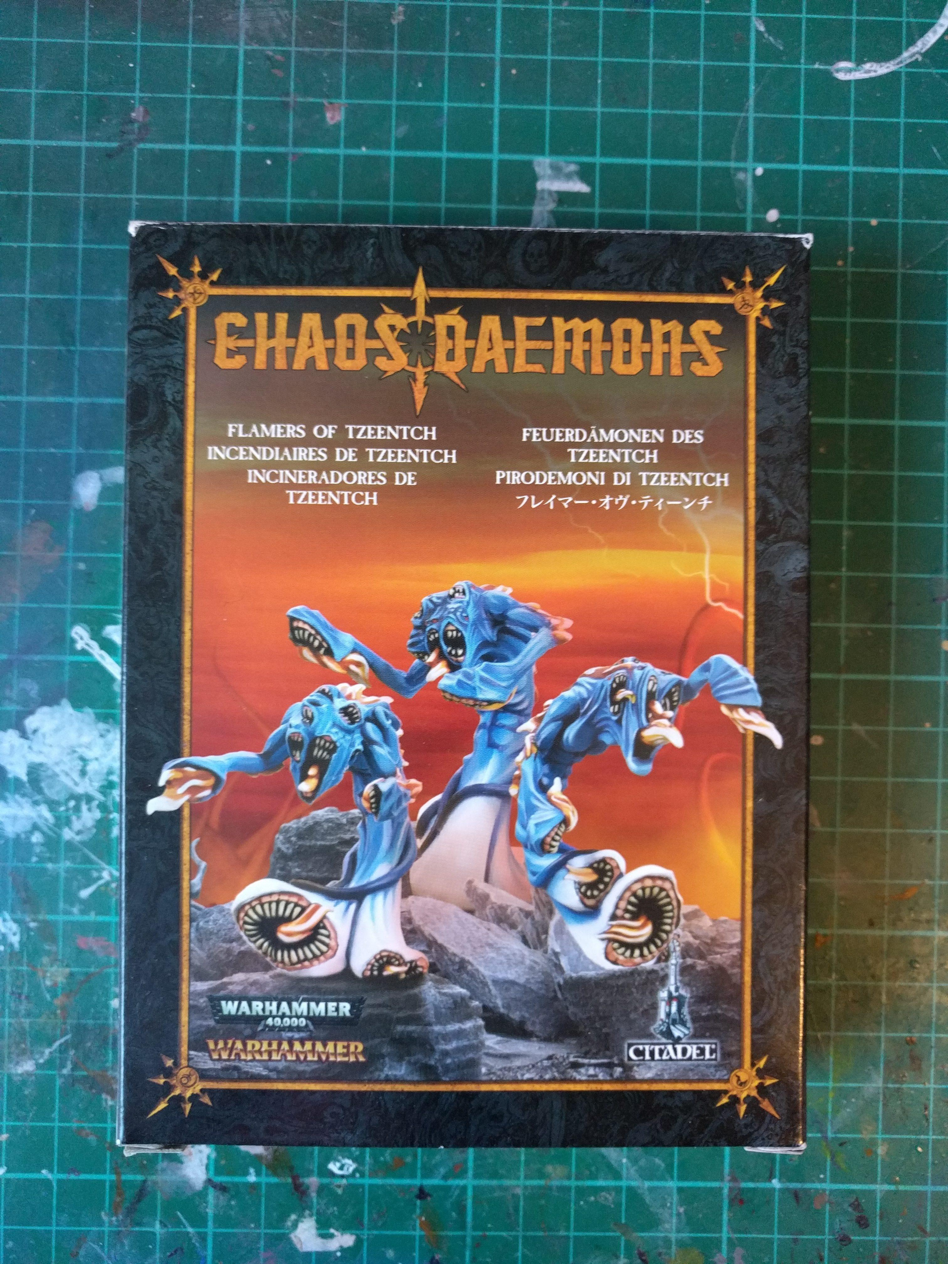 Chaos Daemons Flamers of Tzeentch Metal