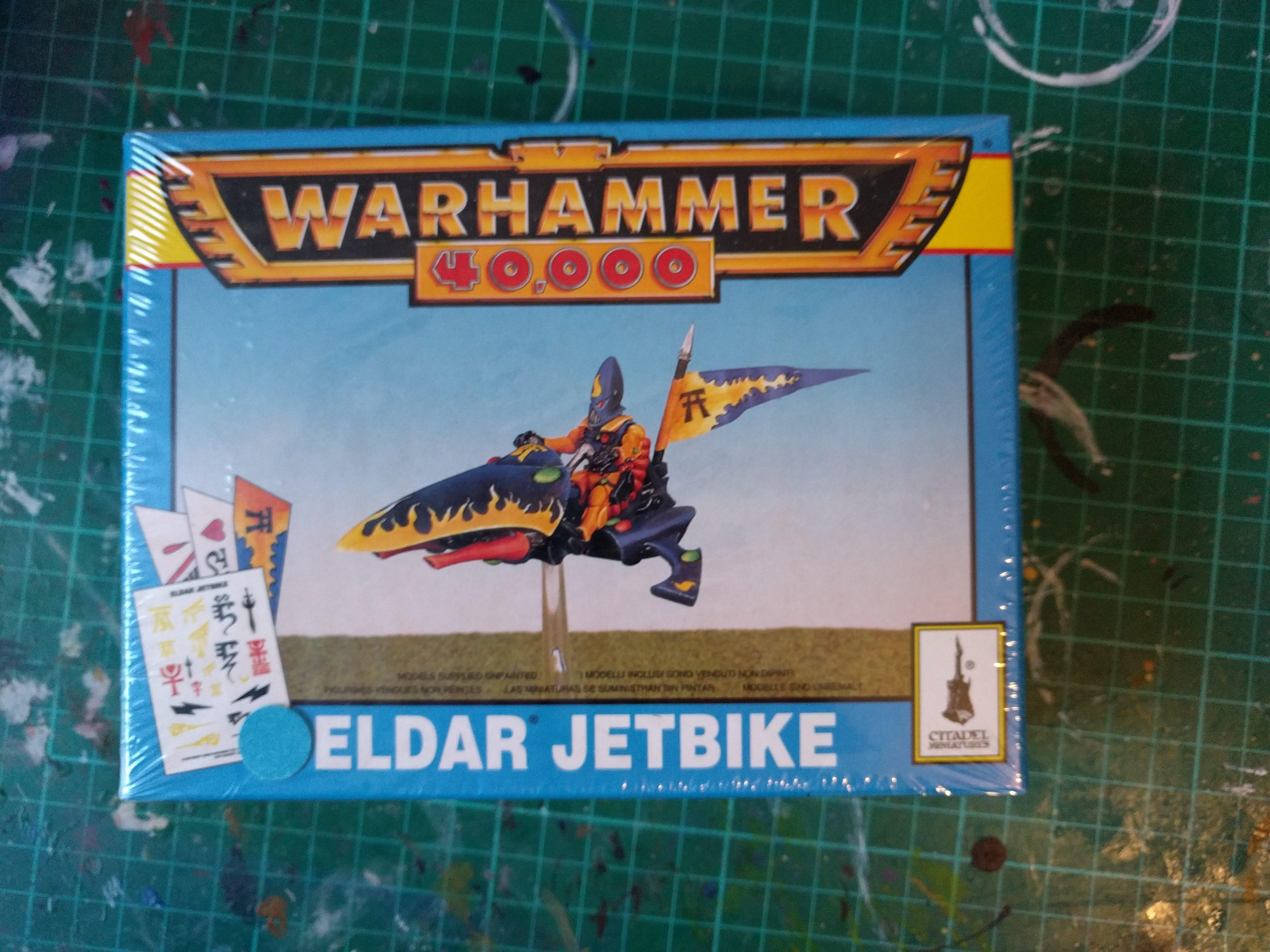 Eldar Jetbike – OOP